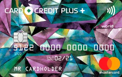 Кредитная карта CardCrediPlus Кредит Европа Банк